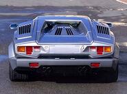 Lamborghini Countach 25th anniversary rear