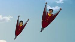 Combinaison de vol de maître de l'air