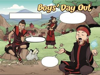La journée entre mecs