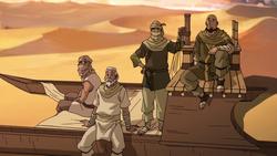 Tribus de Maîtres du Sable