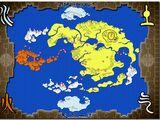 Carte du Monde d'Avatar