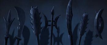 Armes dans le Monde d'Avatar