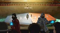 Attaque sur l'Arène de la Ligue des Maîtres