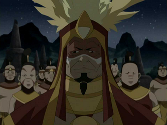 Chef des Guerriers du Soleil