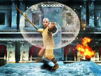 Aang (jeux liés au film)