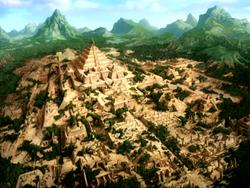 Ancienne Cité des Guerriers du Soleil