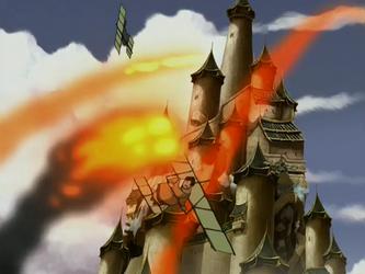 Bataille pour le Temple de l'Air Boréal