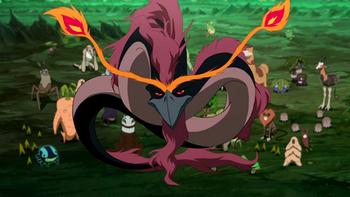 Esprit Anguille-dragon