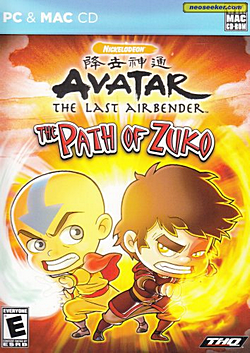 Avatar: The Last Airbender – The Path of Zuko