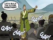 Lao Beifong's speech