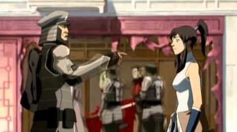 """The Path to Korra - Sneak peek 5 - """"Arrested Avatar"""""""