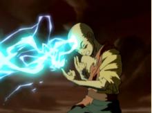 Aang leitet Blitze.png