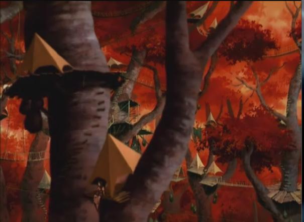Убежище на деревьях
