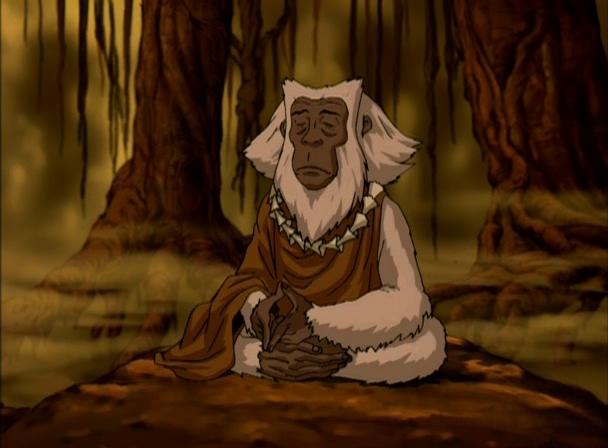 Дух-бабуин