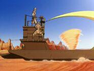 2х10 маги песка на лодке
