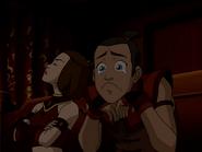 Suki is annoyed at Sokka's reaction