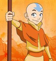 Zeichnung von Aang, wie er seinen Stab vor sich hält.jpg