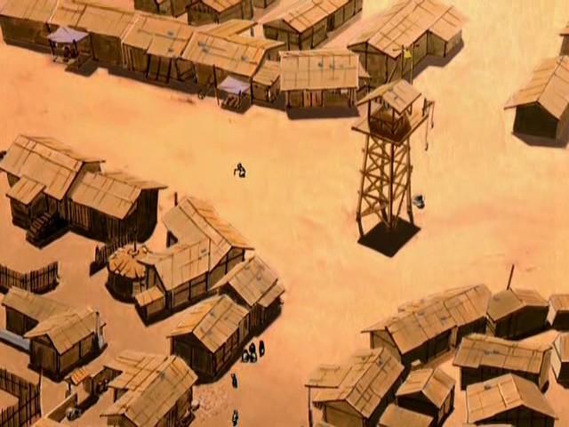 Деревня на равнине
