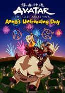 Комиксы День Разморозки Аанга обложка