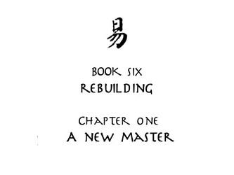 Legend of Korra Book 6: Rebuilding Chapter 1: A New Master