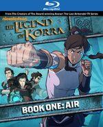 Blu ray обложка Корра Книга 1.jpg
