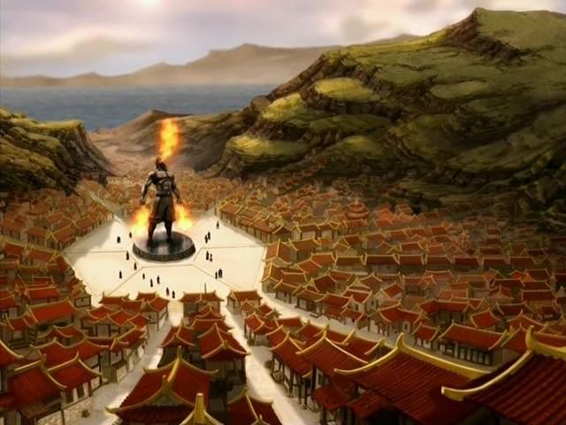 Город Огненного фонтана
