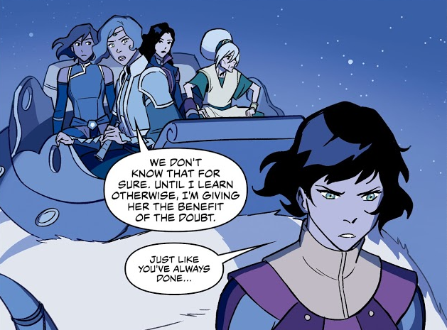Opal, Suyin, Toph, Korra, and Asami on Juicy.png