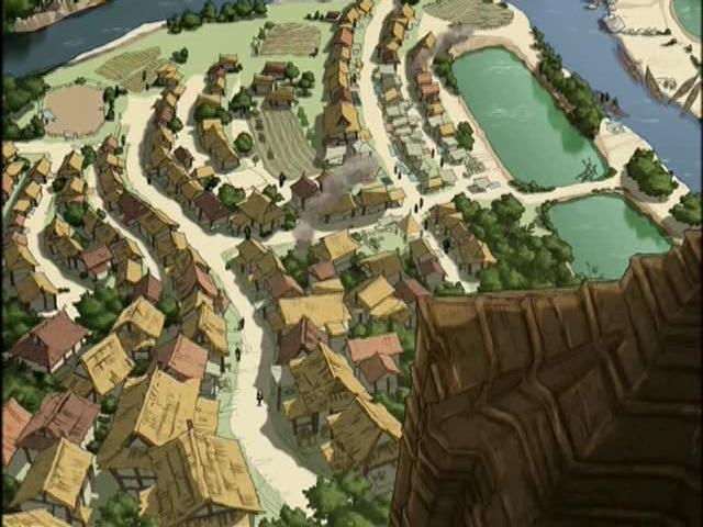Деревня у реки