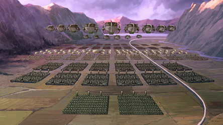 Military of the Earth Empire