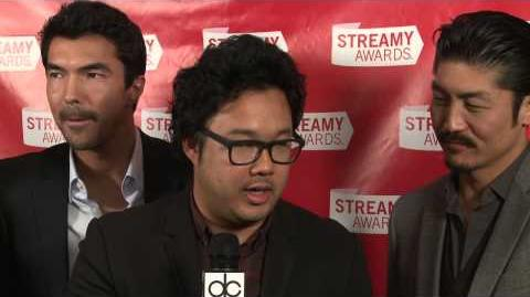 Mortal Combat Backstage Interview - Streamy Awards 2013