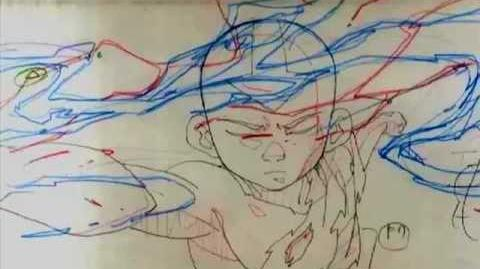Avatar the Last Airbender Finale Pencil test