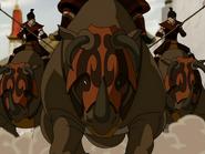 Krieger der Feuernation auf Komodorhinos