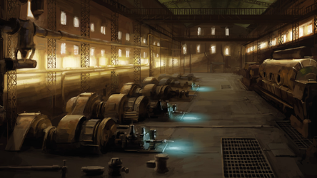 Republic City power plant