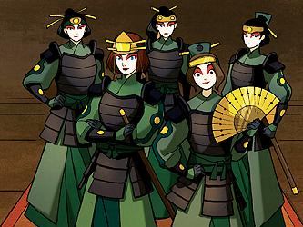 Guerreiras Kyoshi