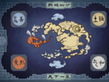 Geography of the World of Avatar