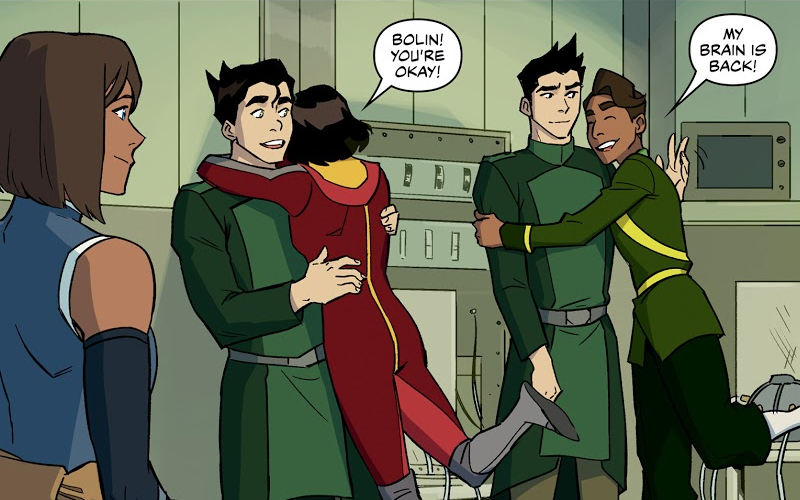Bolin, Mako, and Wu are cured.png