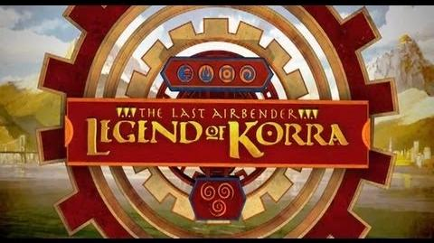 The Last Airbender The Legend of Korra - Exclusive Trailer