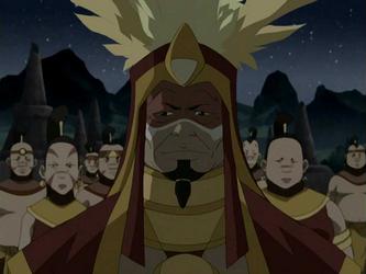 Chefe dos Guerreiros do Sol