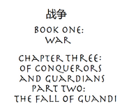 Of Conquerors and Guardians P2