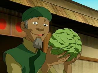 Продавец капусты