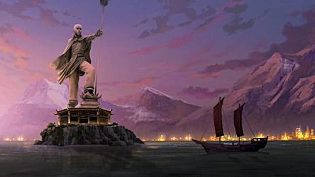 Ilha Memorial de Aang