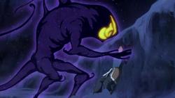 Dark spirit attacking Korra.png