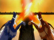 Ran und Shao bändigen Wahres Feuer