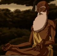 Goeroe Pathik in Lotus Zit