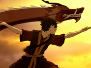 Dancing Dragon step seven
