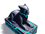 Black Panther Statue (decoration)