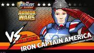 Iron Captain America Armor Wars