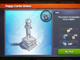 Peggy Carter Statue
