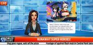 Runaways Special Event newscast 3