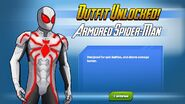 Outfit Unlocked Armored Spider-Man